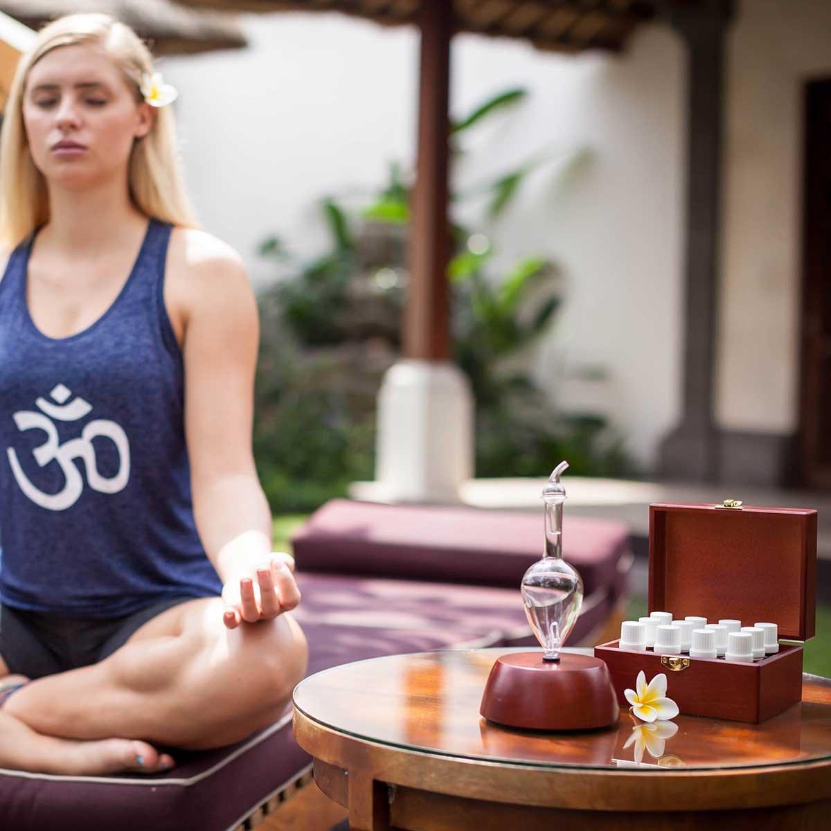 Yoga aaromaterapia