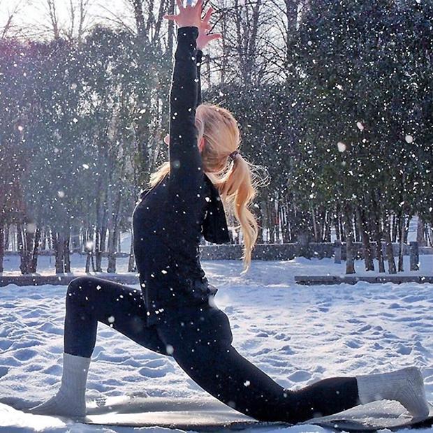 winter yoga 2