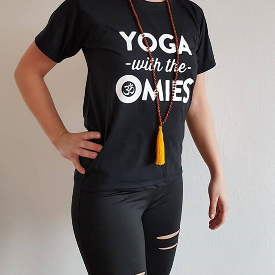 44a656304e54 Tričko s Yogovou potlačou - tričko s potlačou Vám bude robiť radosť