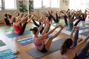 Joga Workshop balančné pozície