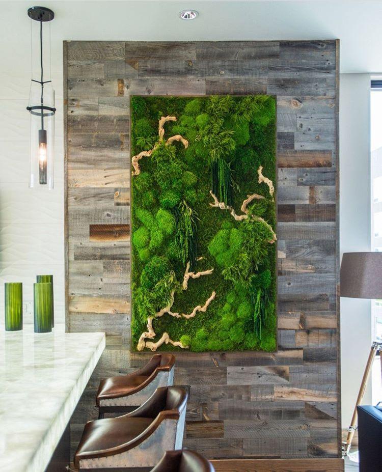 Moss Wall Art – Residental & Commercial _ Artisan Moss